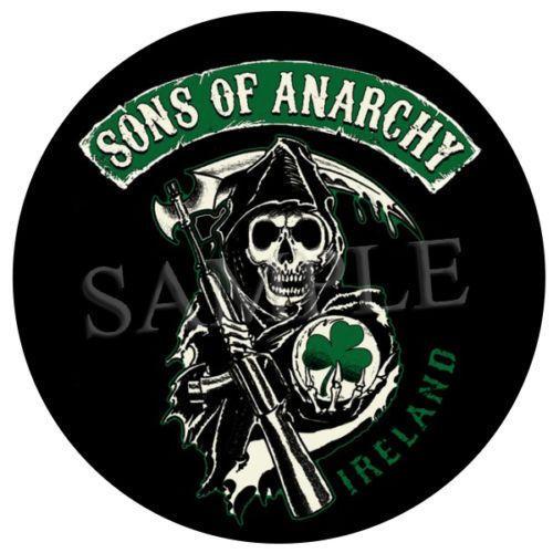 Sons Of Anarchy Ireland 4 X 4 Vinyl Sticker Car Decal Uk Post