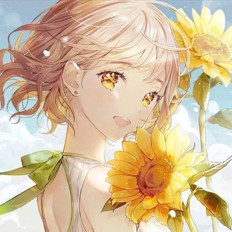 Photo of 『Ảnh Anime Đẹp 』 – #151 : Hoa hướng dương