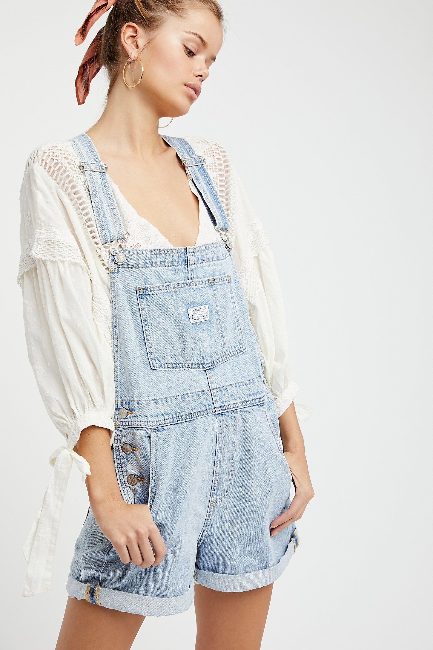 69865af8d66 Shop our Vintage Shortall at FreePeople.com. Share style pics with FP Me