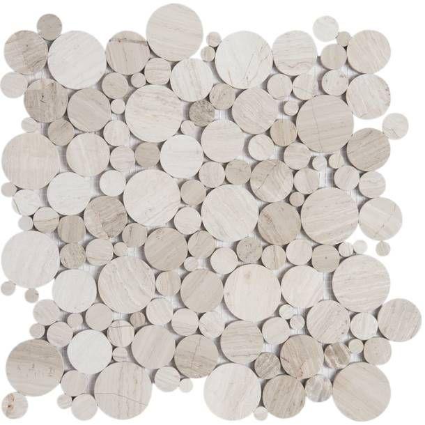 Retro Circle Marble Tile