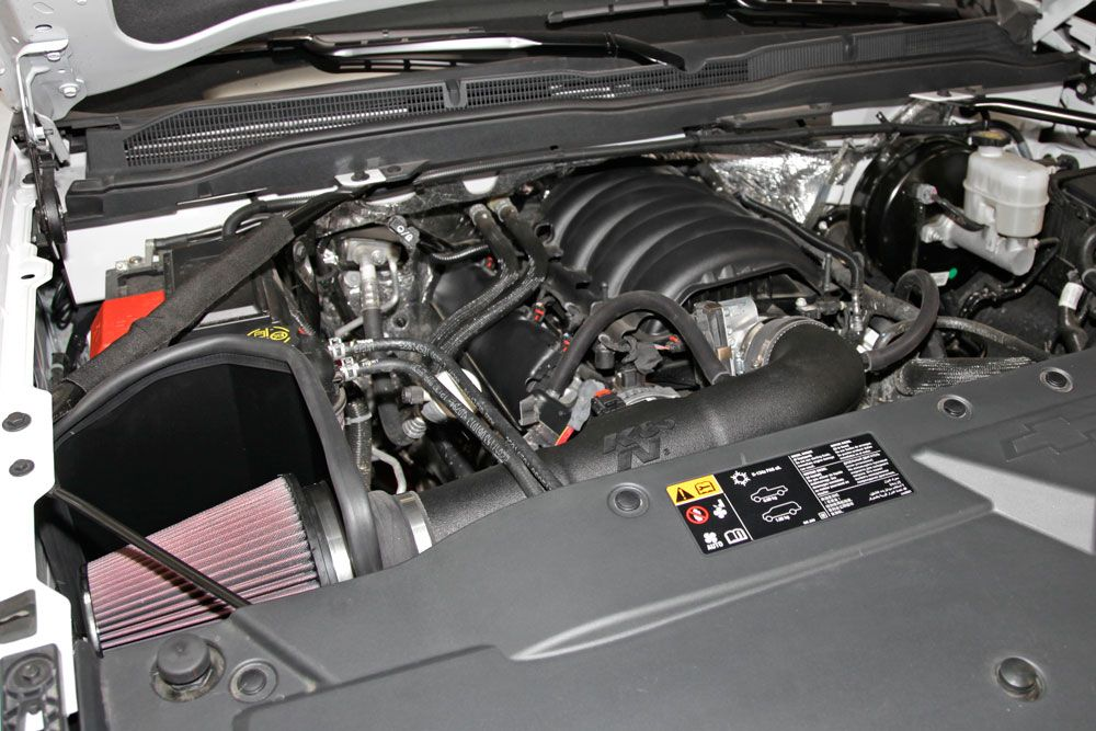 K N Air Intake Adds Power To Your Gm Ecotec3 V8 Powered Pickup
