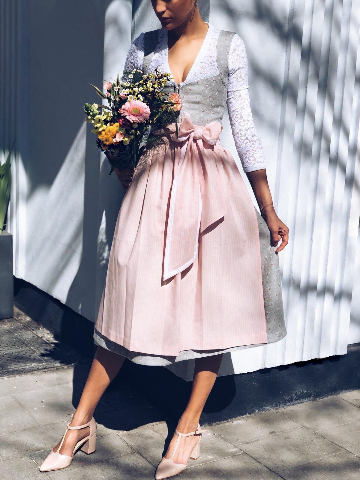 Photo of Dirndl Annelie Pink Slate