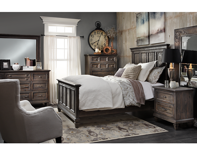 Sedona Panel Bedroom Set | Decor/remodel | Panel bed, Bed ...