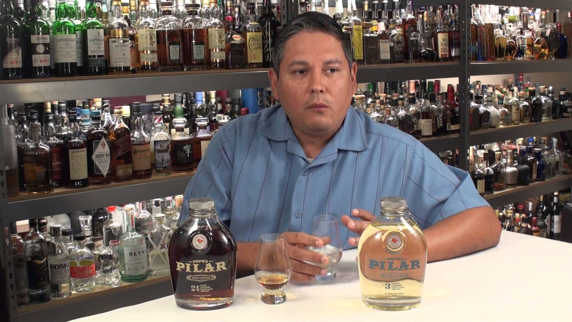 Papa's Pilar Blonde & Dark Rums Reviewed Dark rum, Rum
