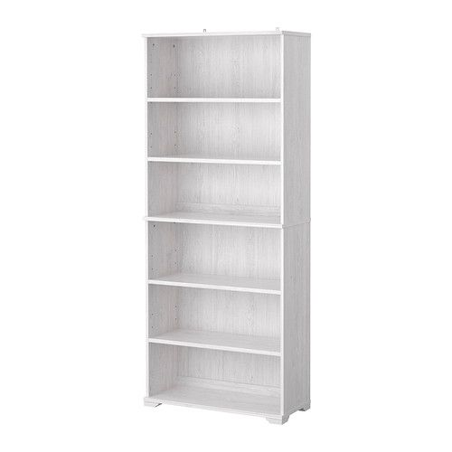 BORGSJÖ Bookcase IKEA The Lower Part Of The Bookcase Has Built In Cable  Management For