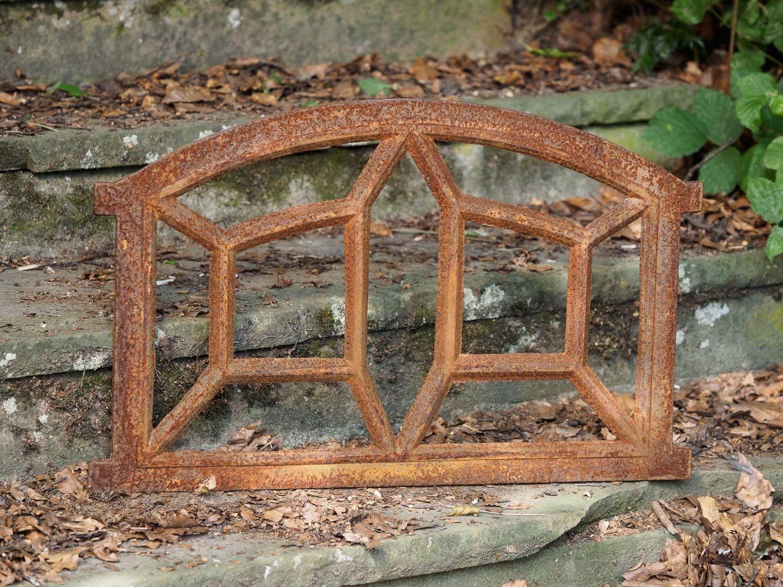 Stallfenster Eisenfenster Scheunenfenster Eisen Fenster 64x44cm im Antik-Stil