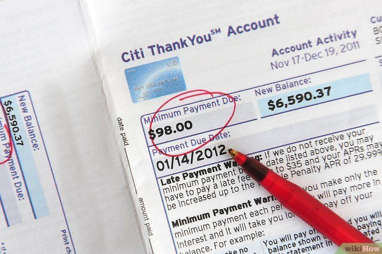How to Pay Off Credit Card Debt 13 Steps (with Pictures) Credit