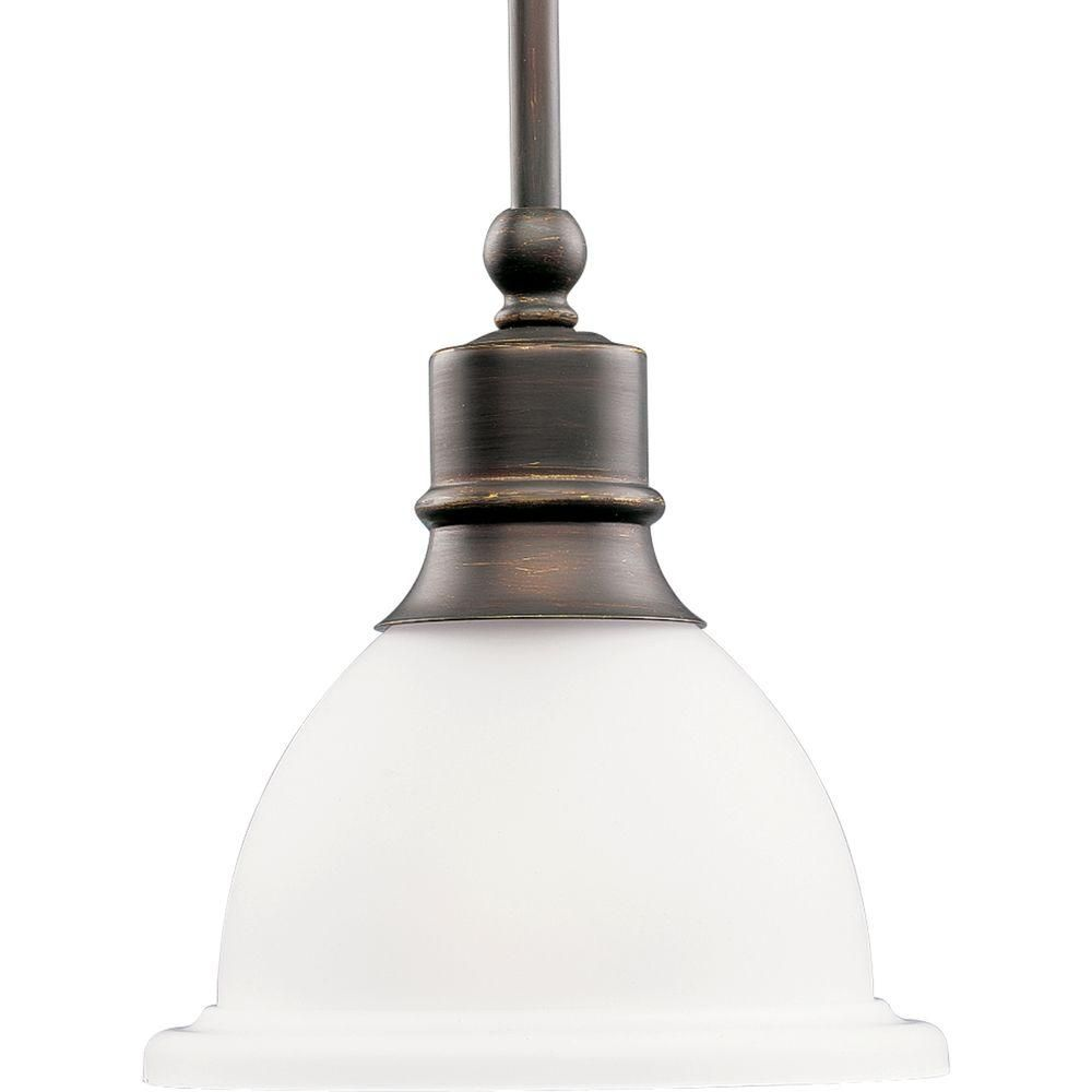 Progress lighting madison collection light antique bronze mini
