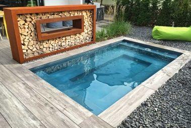 Kleines Schwimmbecken als Fertigbecken für den Garten | Pool | Pinterest