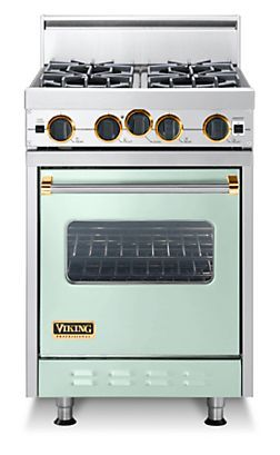 Umm Hello I Can T Decide On The Color Classic 24 Inch Four Burner Gas Range Viking Range Corporation Tiny House Appliances Small Stove Viking Stove