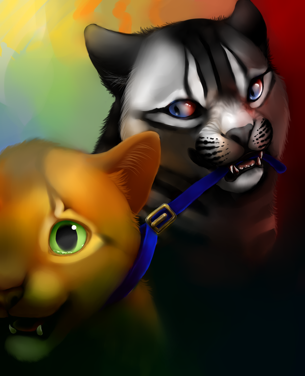 Sss Warrior Cats The Movie: Rusty Vs. Longtail By Sylvanimus.deviantart.com On