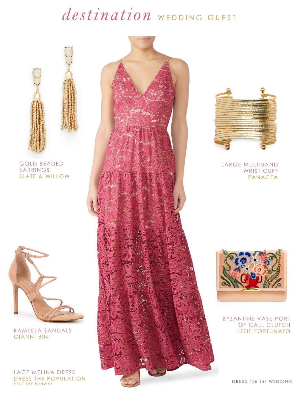 What To Wear To A Destination Wedding As A Guest Wedding Guest Dress Wedding Outfit Wedding Guest Outfit [ 1346 x 1000 Pixel ]