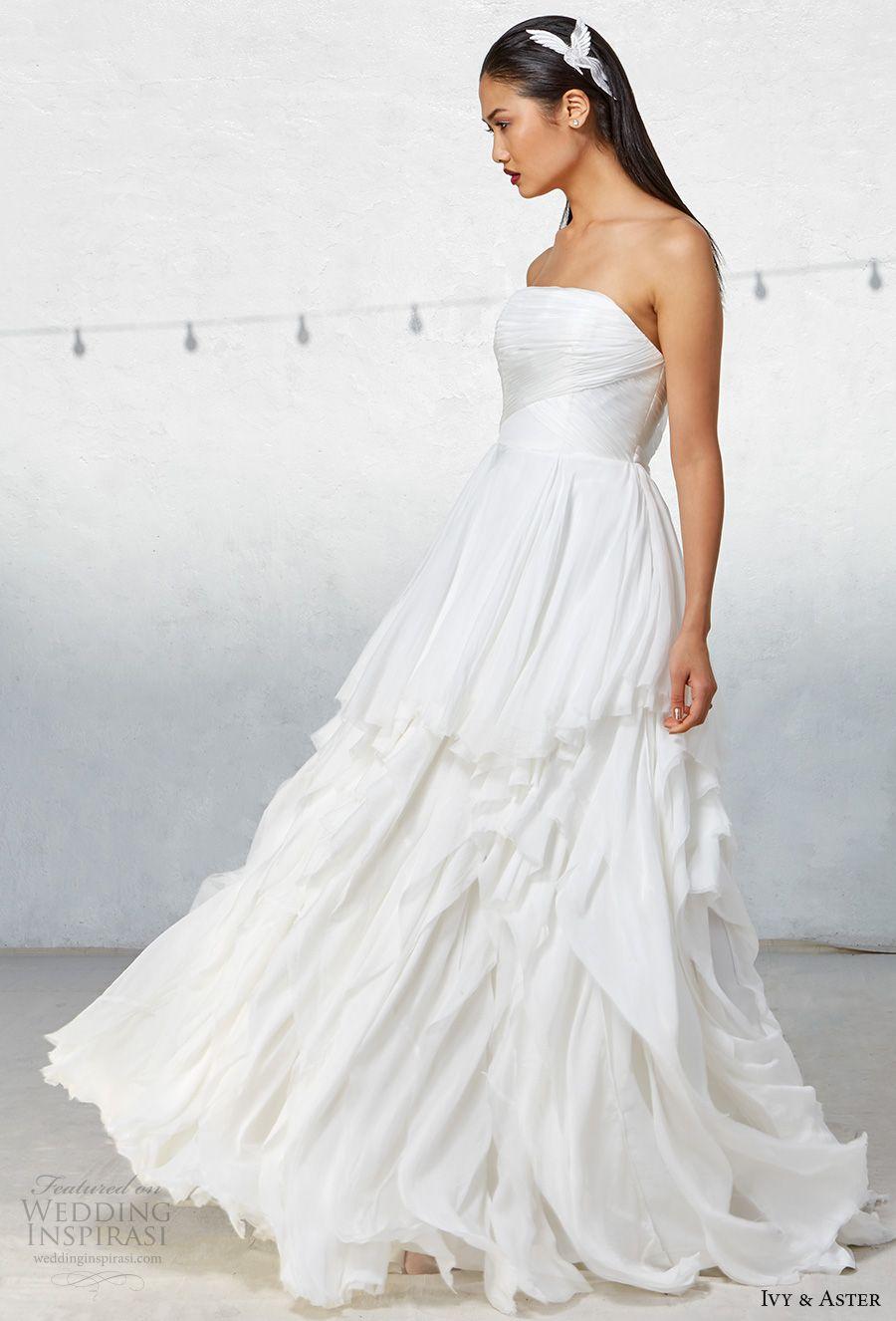 Ivy Aster Fall 2017 Wedding Dresses Wedding Inspirasi Ball Gown Wedding Dress Wedding Dresses Romantic Celtic Wedding Dress [ 1326 x 900 Pixel ]