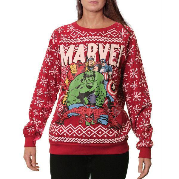 Ugly Christmas Sweatshirt ($42) ❤ liked on Polyvore featuring tops, hoodies, sweatshirts, christmas party tops, crewneck sweatshirt, party tops, red crew neck sweatshirt and christmas sweatshirt
