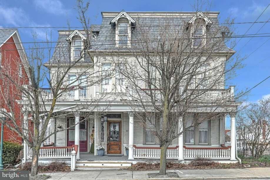 Phenomenal 1885 Second Empire Dallastown Pa 184 900 Old House Interior Design Ideas Tzicisoteloinfo
