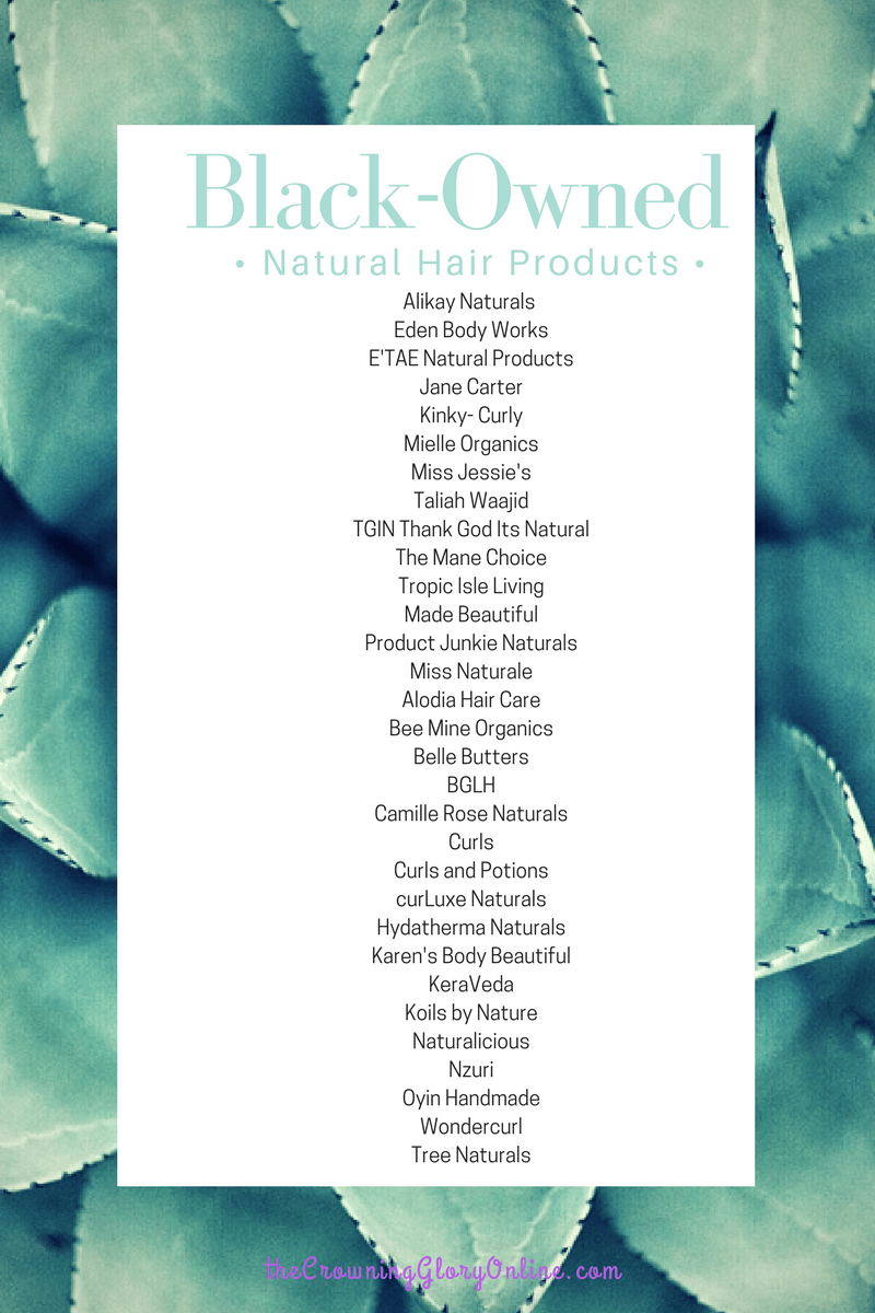 black owned natural hair products Natural hair styles