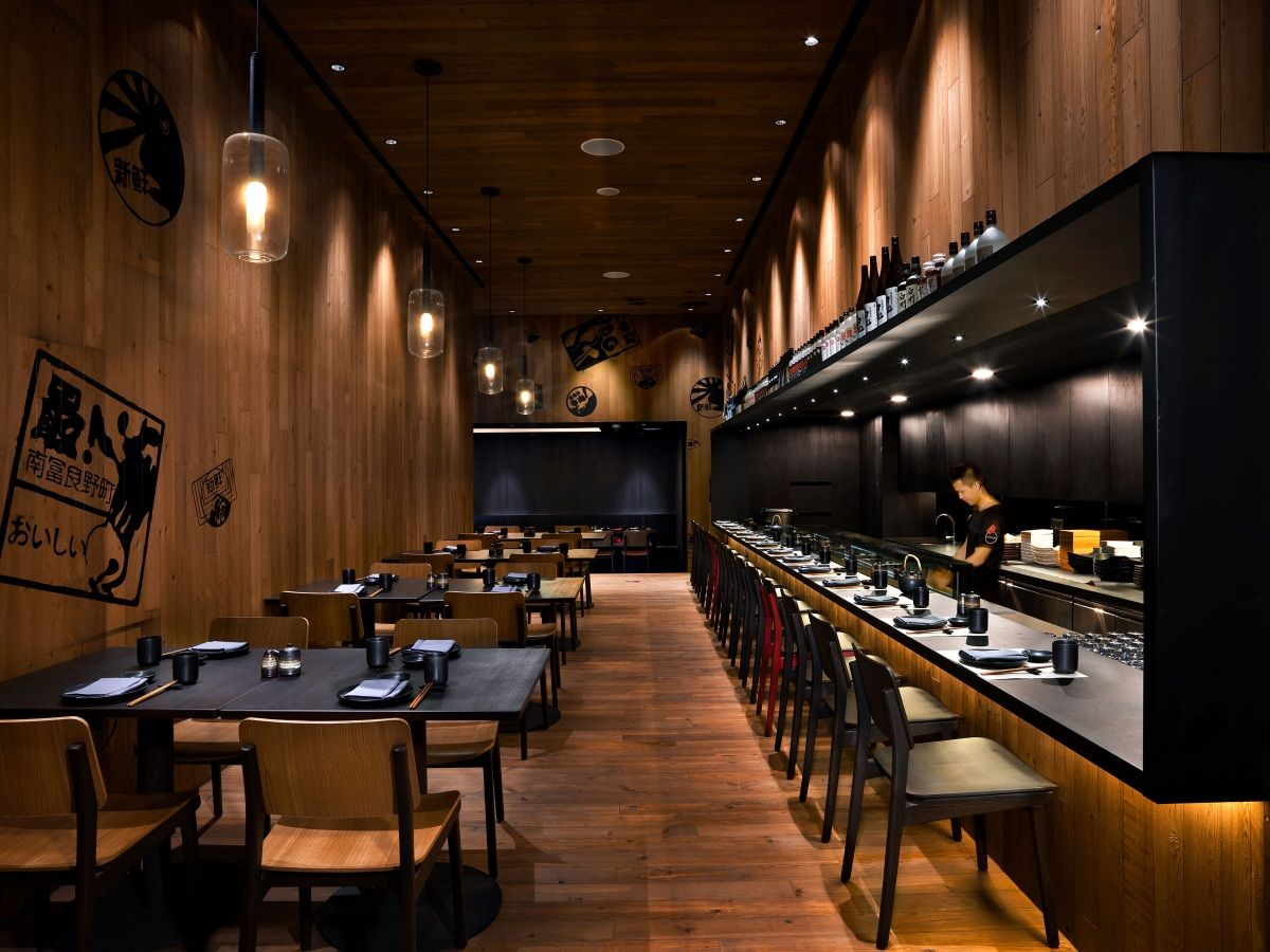 Good Restaurant Layout : Yang rutherford global branding design and