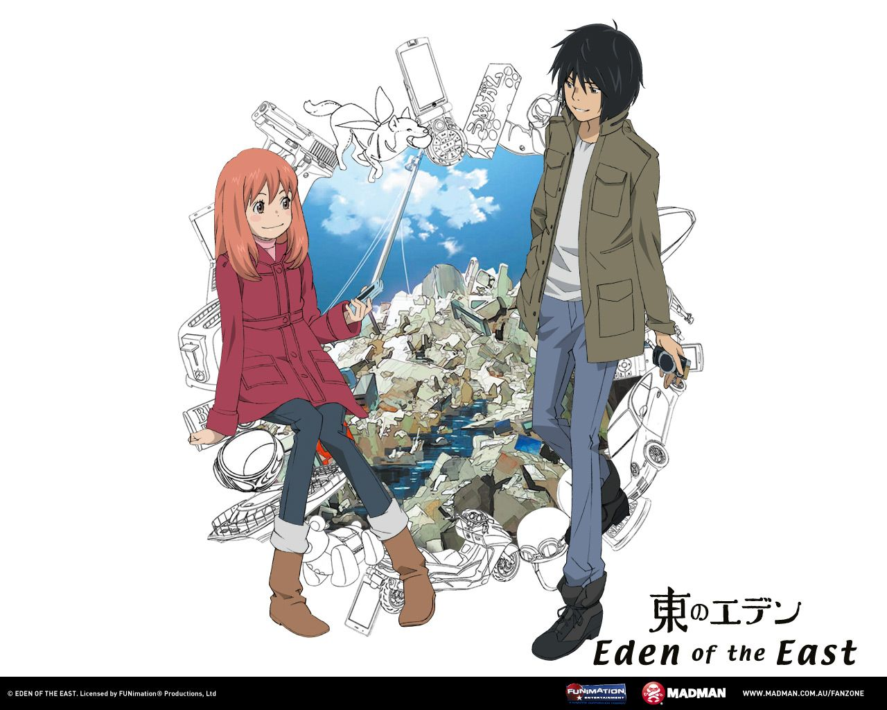 Eden Of The East Anime Love Wallpaper Anime