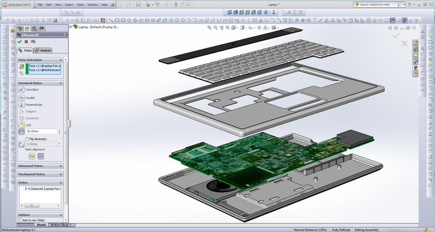 Exploded View Of A Laptop I M Redesigning In Solidworks Autocad Solidworks Exploded View