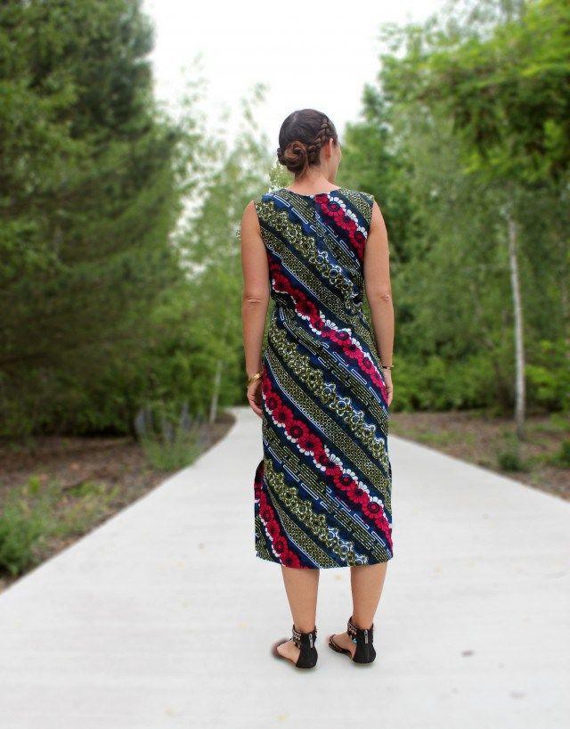 Schnittmuster für langes Kleid für Anfänger | DIY - Selbstgenähte ...