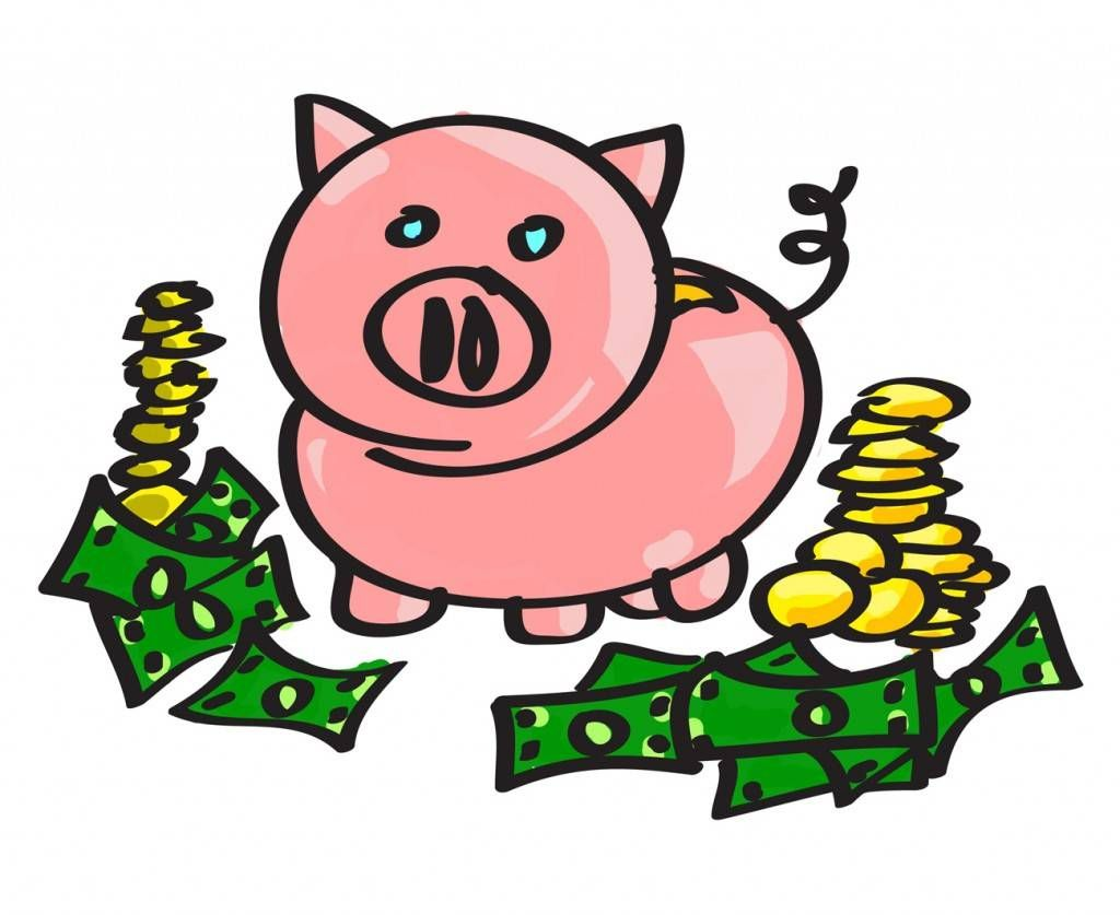 piggy bank clipart google search econ department pinterest rh pinterest com Less Money Clip Art Confidence Clip Art