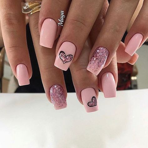 Nifty Cute Heart Shaped Nails - Page 3 of 5 - Vida Joven