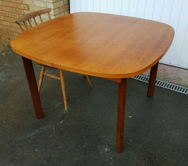Vintage G Plan Extending 60 S Mid Century Teak Table United Kingdom Gumtree Mid Century Dining Table Teak Table Table