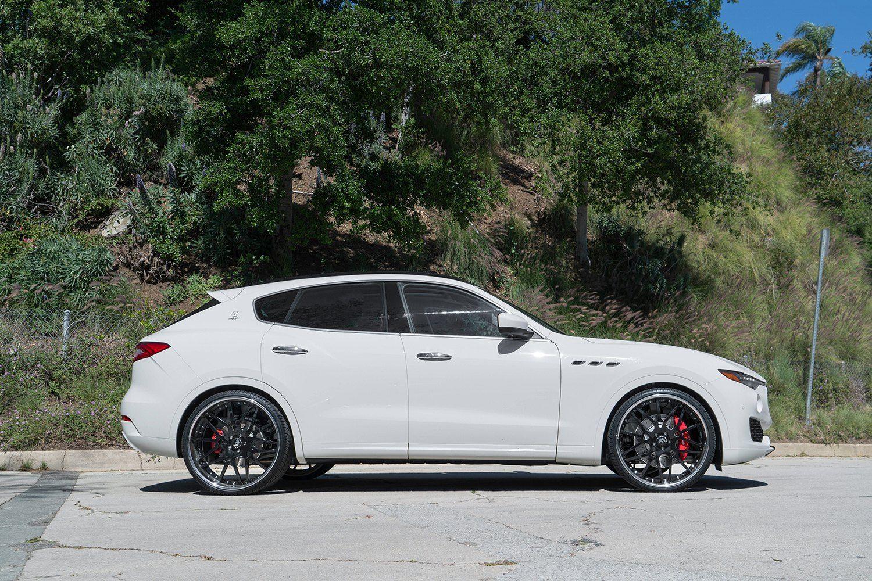 Luxury Never Hurts Customized White Maserati Levante Maserati