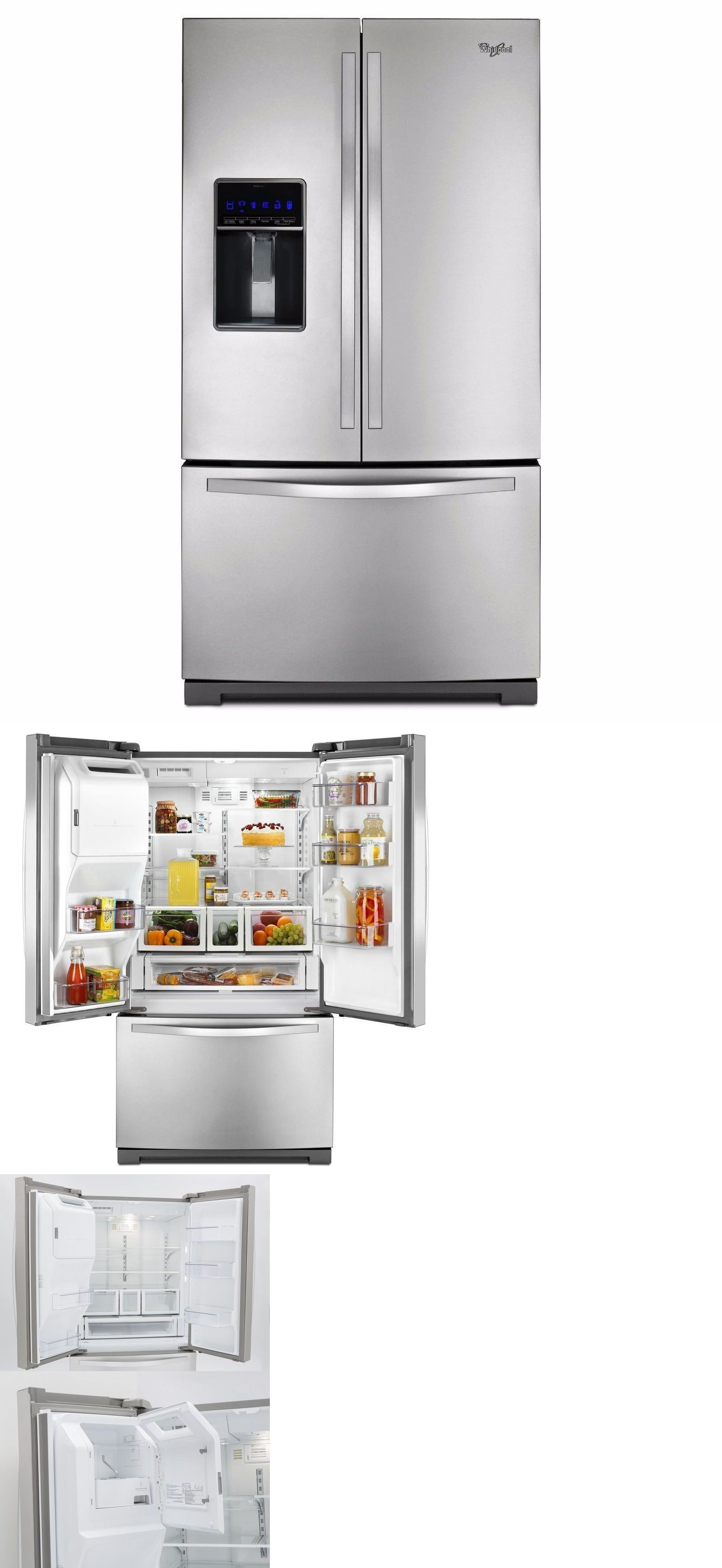 36 Refrigerators Refrigerators 20713 Whirlpool Wrf736sdam 36 French Door