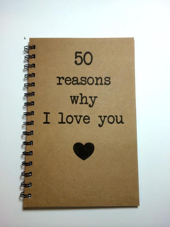 Reasons Why I Love You Notebook Love Notes Journal | Etsy | Gründe, warum  ich dich liebe, Geschenk beste freundin, Warum ich liebe dich