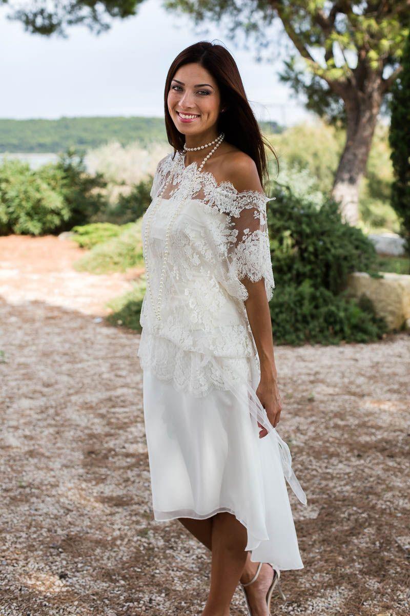 Robe de mariée courte style bohème robes de mariée pinterest