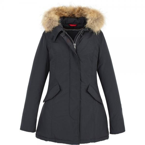 Giacca donna in vera piuma #jacket #canadian