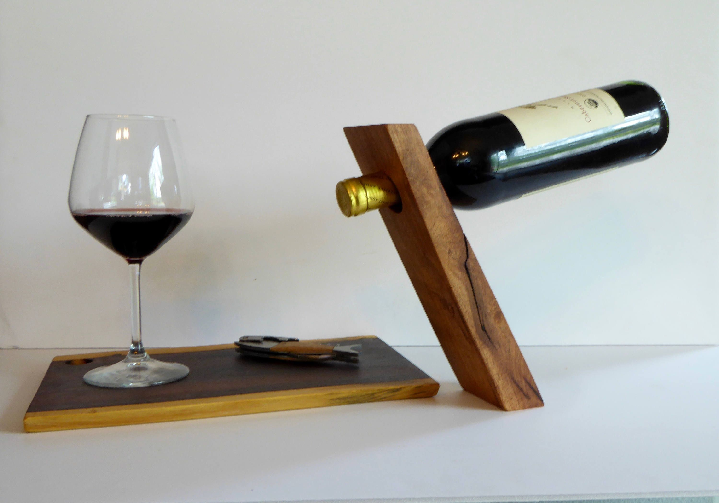 Wine Holder Stand Balanced Wine Holder Gravity Wine Holder Wine Bottle Stand Gift