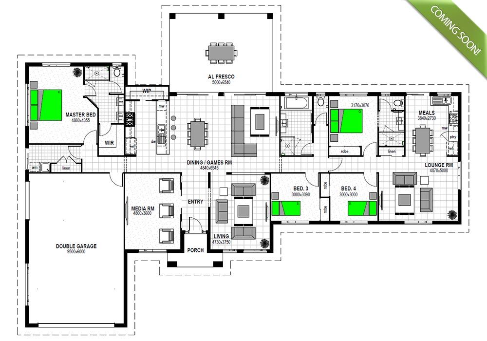 House plans with granny flat house plans with granny flat for Floor plans granny flats