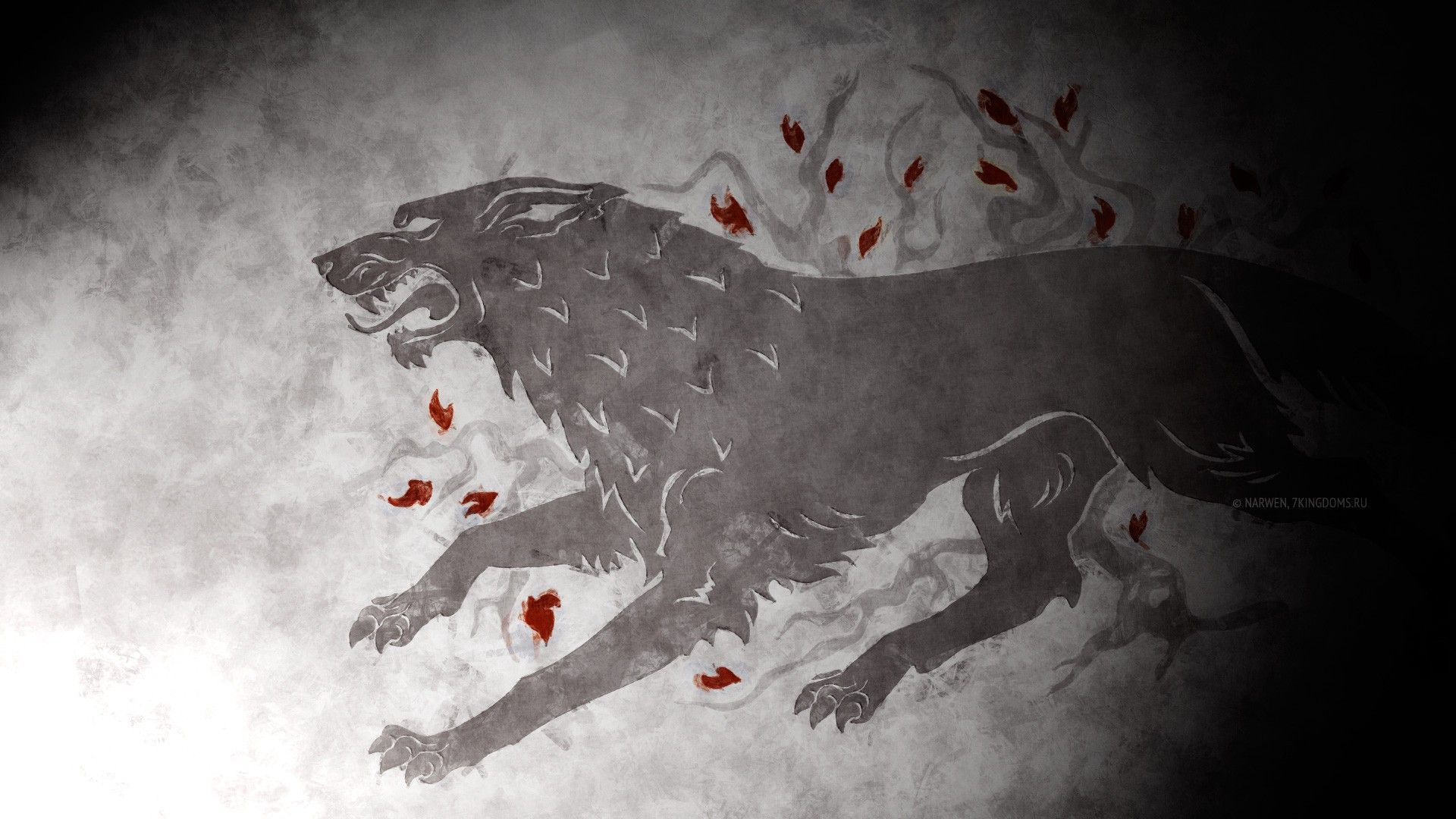 Game Of Thrones Wallpaper Game Of Thrones Stark Wolf