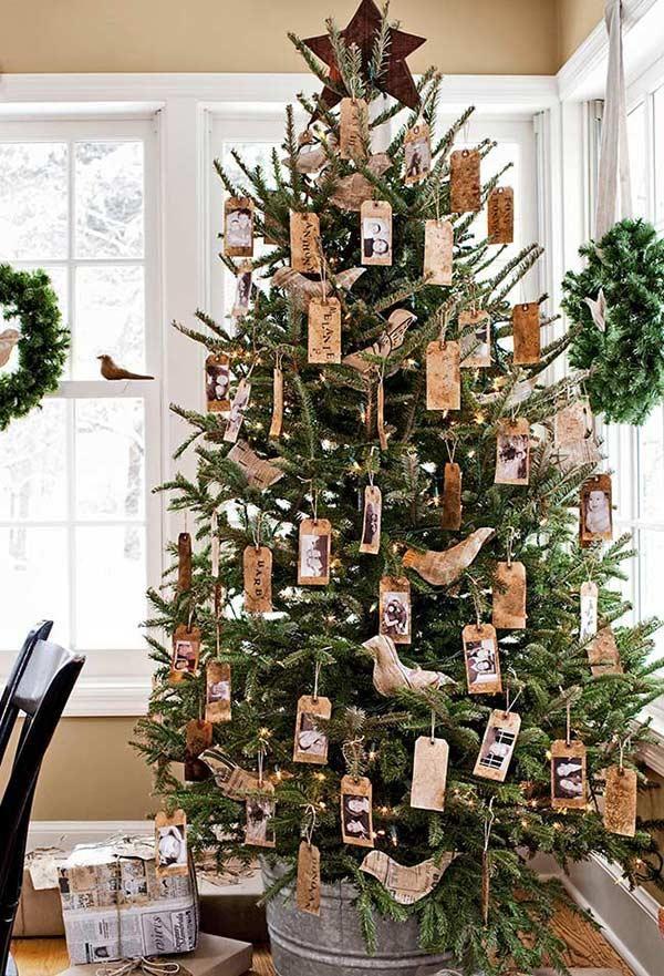 Dekorierter Weihnachtsbaum 65 tolle Ideen für Ihr Zuhause