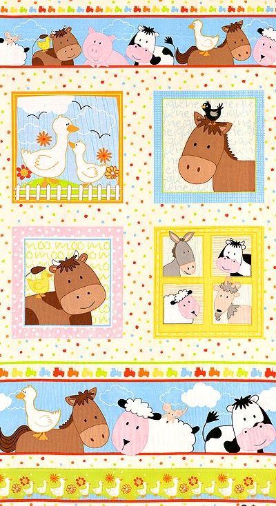 Farm Animal Baby Toddler Quilts Crib Bedding Nursery Accessories
