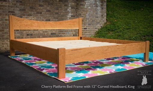 Platform Bed Frame, Custom Made Queen Size Bed Frame