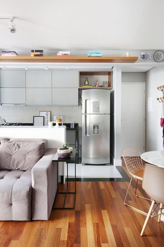 Apto 43 Sala De Estar Sofa Cozinha Apartamentos Apartamentos