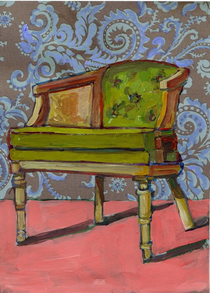 Green Chair By Meredith Steele