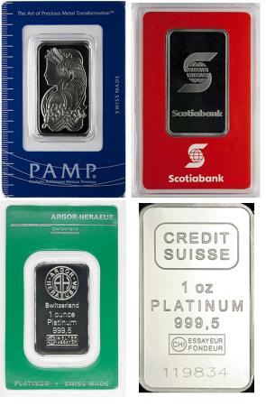 Credit Suisse Platinum Bar 1 Oz Silver Coins Ancient Coins