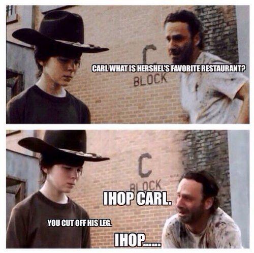 c5850fc65cff0bb751b4fdb650da576c the 18 best rick and carl joke memes see them all www,Carl Rick Meme