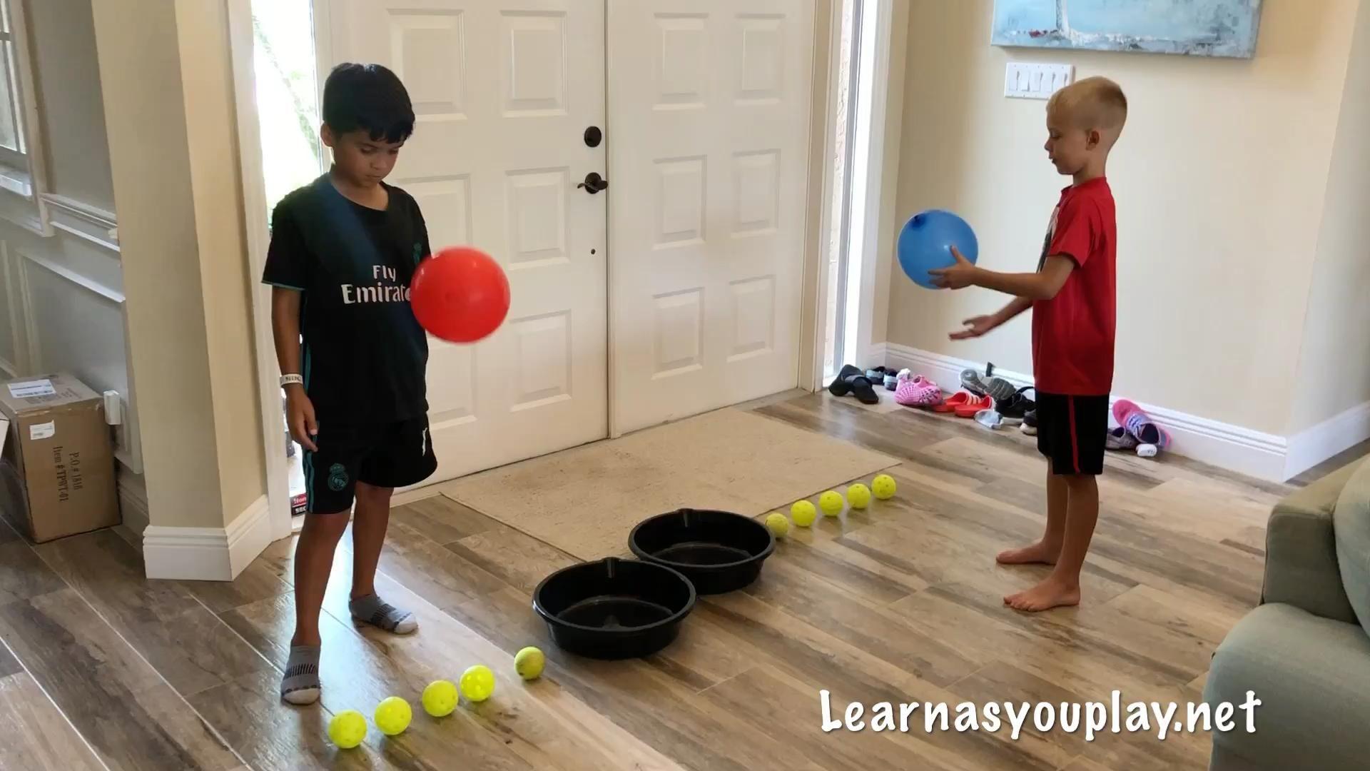 Balloon Ball Race!