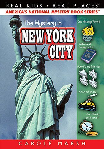 The Mystery in New York City (Real Kids, Real Places) (Carole Marsh Mysteries Ser) by Carole Marsh http://www.amazon.com/dp/0635020998/ref=cm_sw_r_pi_dp_Z17hub06E5P44