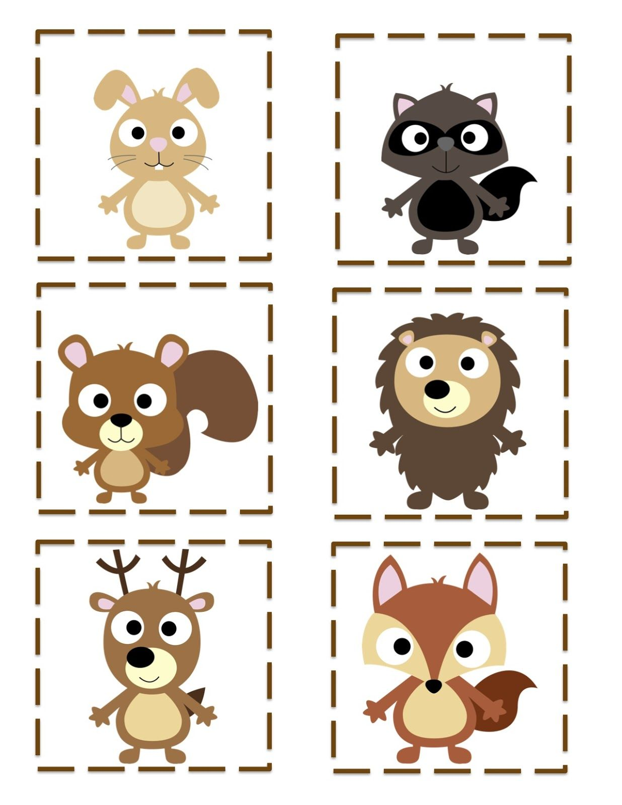Preschool Printables Free Forest Friends Printable