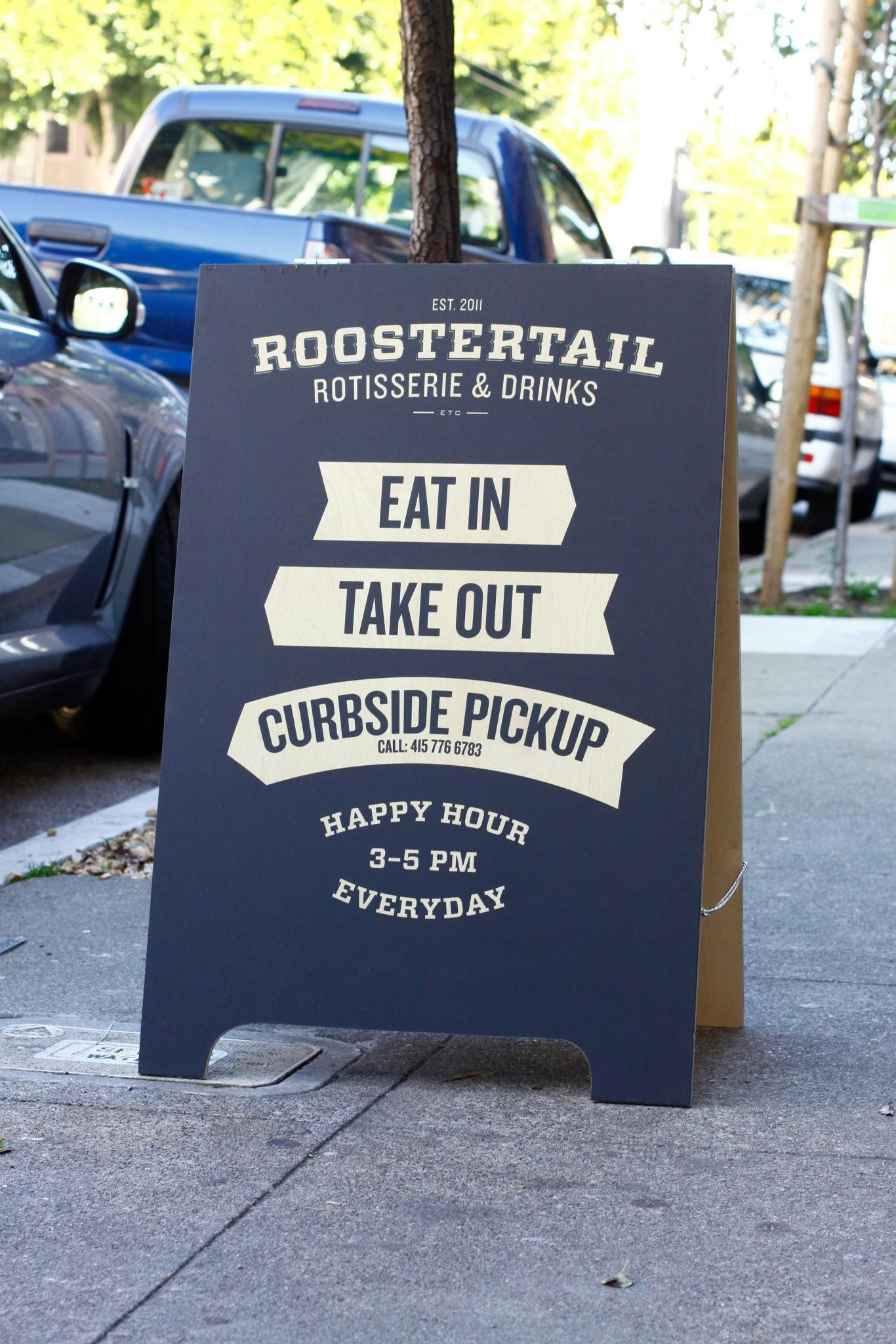 A frame sign roostertail pinterest signage cafes