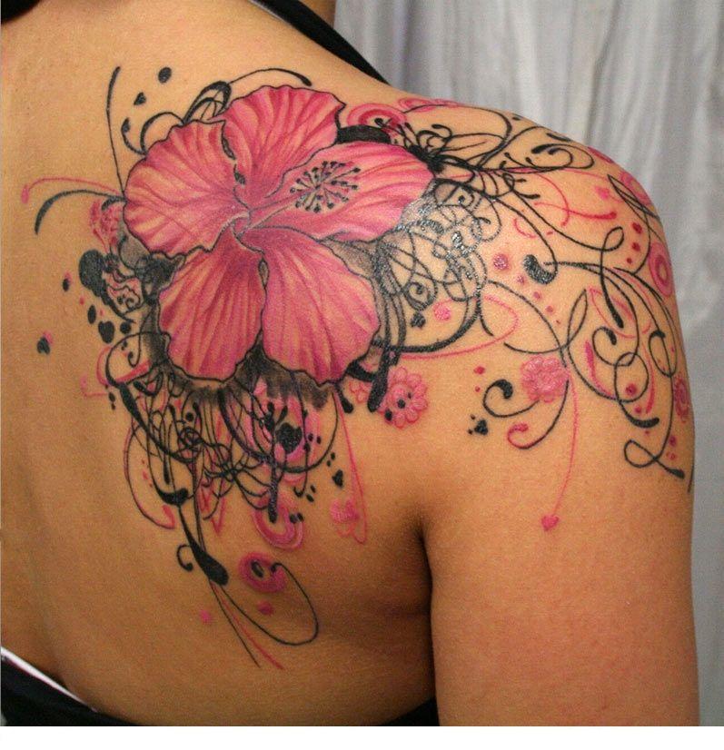 Amaryllis Tattoo Google Search Feminine Tattoos Tattoos Shoulder Tattoos For Women