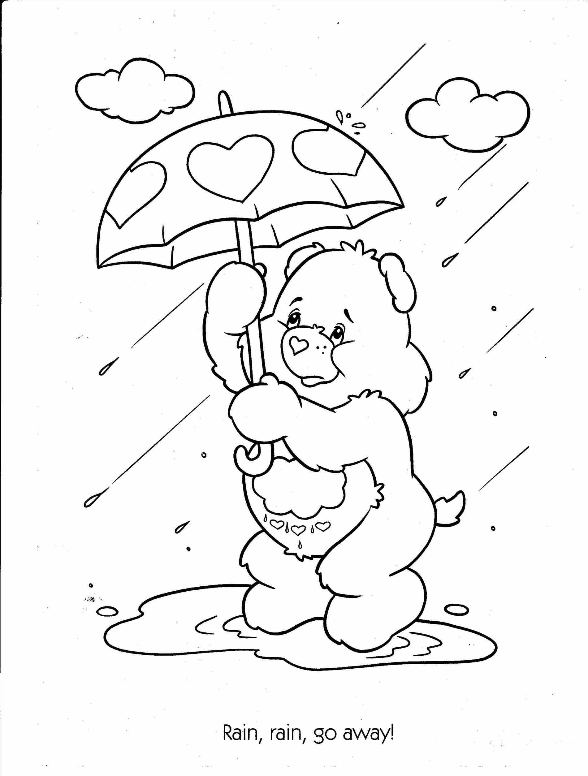 25 Wonderful Picture Of Rainy Day Coloring Pages Davemelillo Com Bear Coloring Pages Witch Coloring Pages Cartoon Coloring Pages