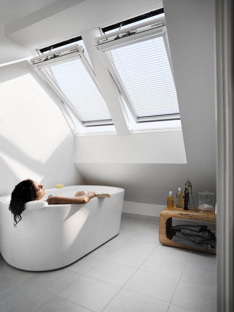 Elektrische Dachfenster Mit Solar Velux Integra Dachfenster Dachformen Pavillon Dach