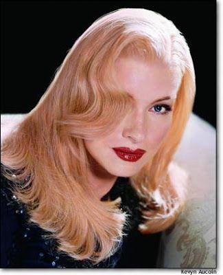 Martha Stewart, styled as Veronica Lake by Kevyn Au Coin.